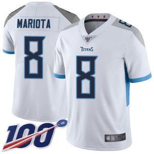Mens Tennessee Titans Marcus Mariota 100th Jersey